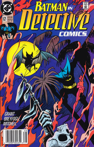 Cover for Detective Comics (DC, 1937 series) #621 [Direct Edition]