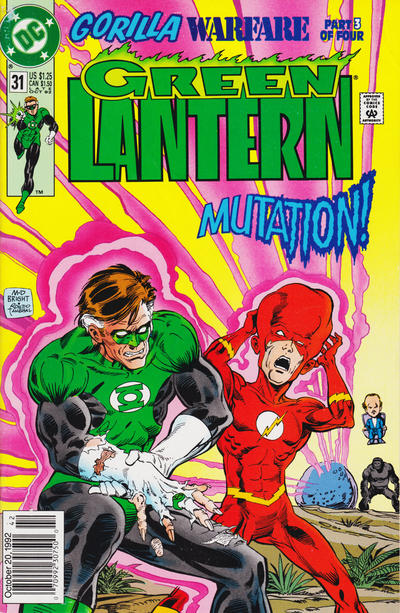 Cover for Green Lantern (DC, 1990 series) #31 [Direct]