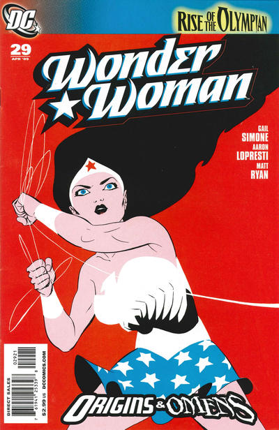 Cover for Wonder Woman (DC, 2006 series) #29