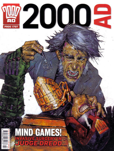 Cover for 2000 AD (Rebellion, 2001 series) #1707