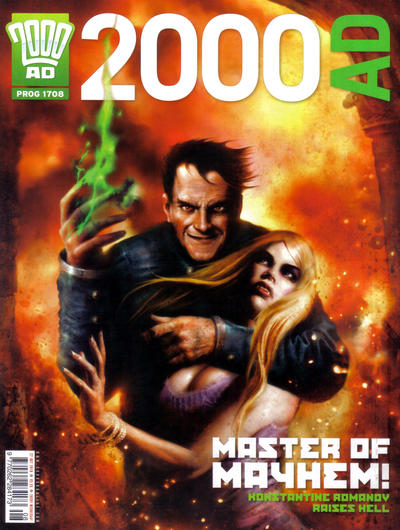 Cover for 2000 AD (Rebellion, 2001 series) #1708