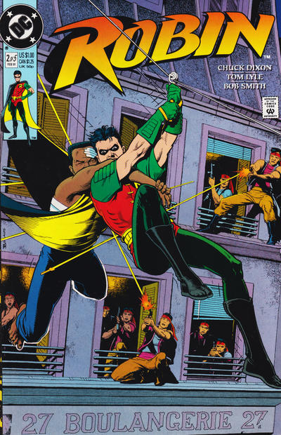 Cover for Robin (DC, 1991 series) #2 [Newsstand]