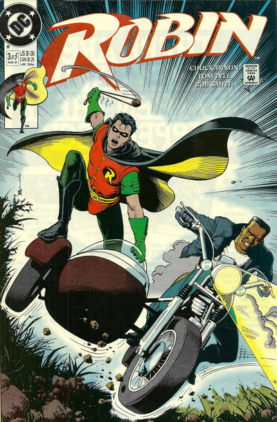 Cover for Robin (DC, 1991 series) #3 [Newsstand]