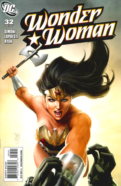 Cover for Wonder Woman (DC, 2006 series) #32 [Francis Manapul Variant]