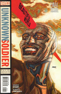 Cover Thumbnail for Unknown Soldier (DC, 2008 series) #25
