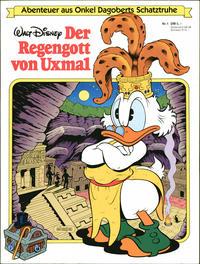 Cover Thumbnail for Abenteuer aus Onkel Dagoberts Schatztruhe (Egmont Ehapa, 1983 series) #1 - Der Regengott von Uxmal