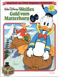 Cover Thumbnail for Abenteuer aus Onkel Dagoberts Schatztruhe (Egmont Ehapa, 1983 series) #2 - Weißes Gold vom Matterhorn