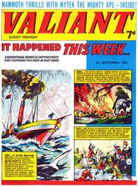Cover Thumbnail for Valiant (IPC, 1964 series) #4 September 1965
