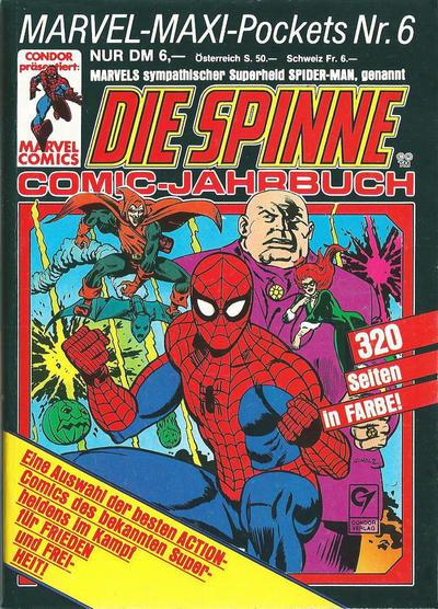 Cover for Marvel-Maxi-Pockets (Condor, 1980 series) #6
