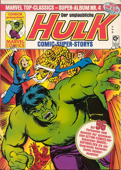 Cover for Marvel Top-Classics (Condor, 1980 series) #4