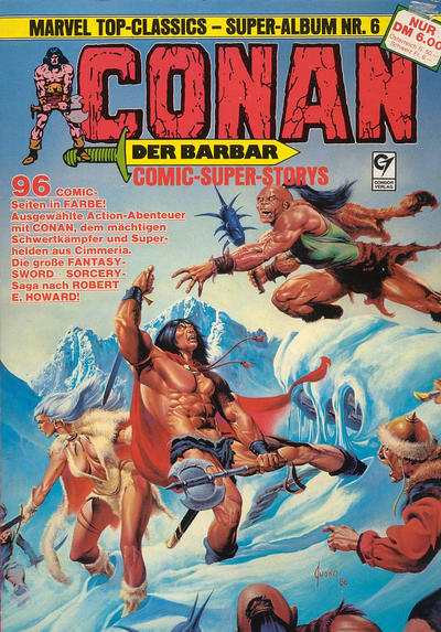 Cover for Marvel Top-Classics (Condor, 1980 series) #6