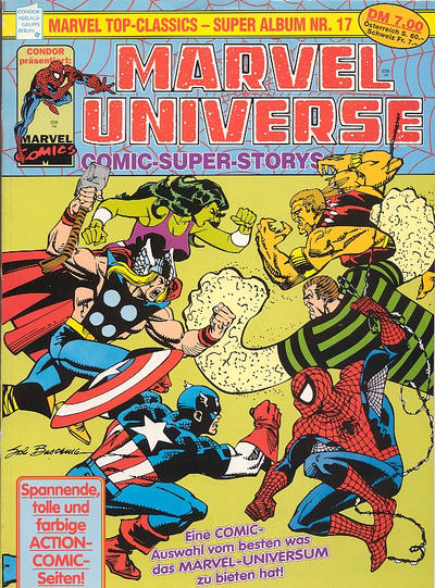 Cover for Marvel Top-Classics (Condor, 1980 series) #17