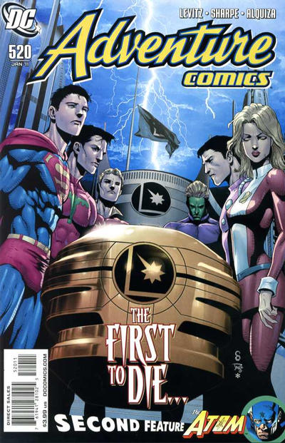 Cover for Adventure Comics (DC, 2009 series) #520