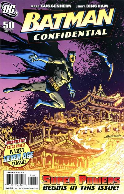Cover for Batman Confidential (DC, 2007 series) #50