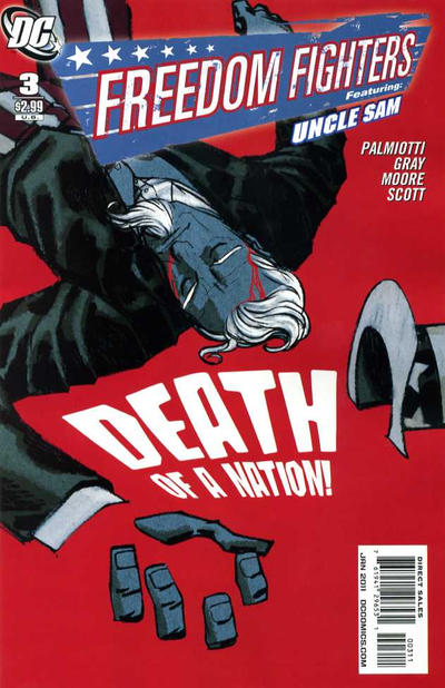 Cover for Freedom Fighters (DC, 2010 series) #3