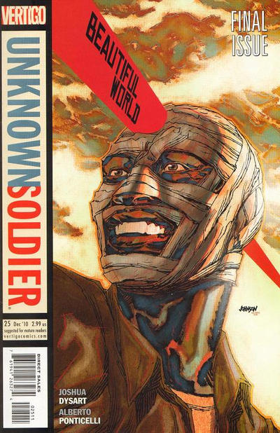 Cover for Unknown Soldier (DC, 2008 series) #25