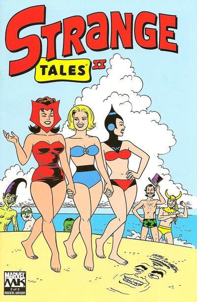 Cover for Strange Tales II (Marvel, 2010 series) #2