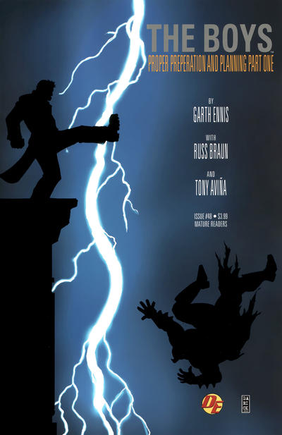 Cover for The Boys (Dynamite Entertainment, 2007 series) #48