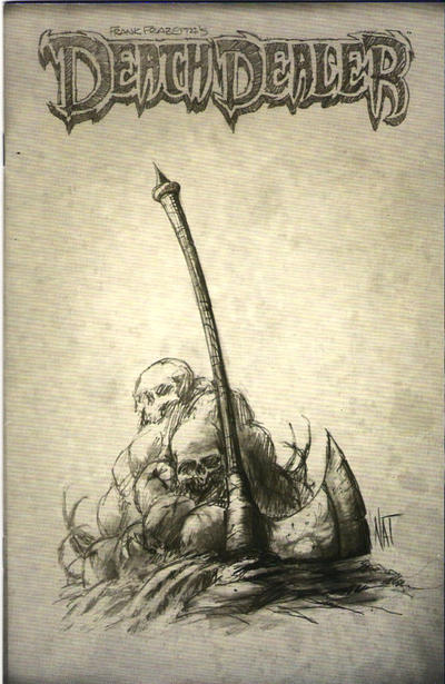 Cover for Frank Frazetta's Death Dealer (Image, 2007 series) #6 [Cover A]