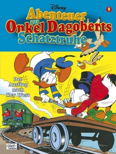 Cover for Abenteuer aus Onkel Dagoberts Schatztruhe (Egmont Ehapa, 2004 series) #9
