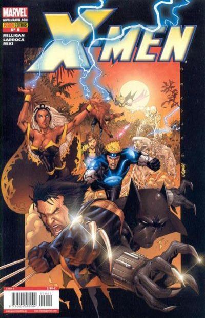 Cover for X-Men (Panini España, 2006 series) #9