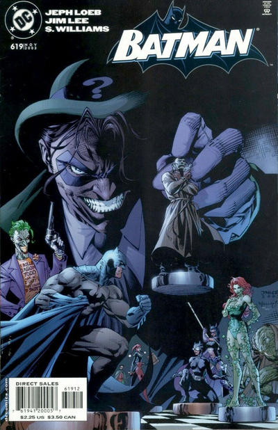 Cover for Batman (DC, 1940 series) #619 [Newsstand]