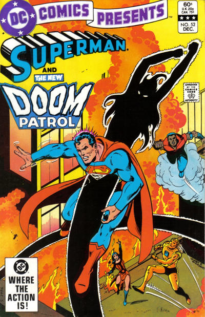 Cover for DC Comics Presents (DC, 1978 series) #52 [Direct]
