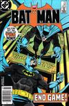 Cover for Batman (DC, 1940 series) #381 [Newsstand]