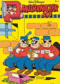 Cover Thumbnail for Panzerknacker & Co (Egmont Ehapa, 1986 series) #4