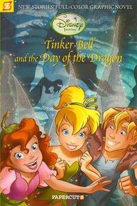 Cover Thumbnail for Disney Fairies (NBM, 2010 series) #3 - Tinker Bell and the Day of the Dragon