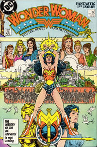 Cover Thumbnail for Wonder Woman (DC, 1987 series) #1 [Direct Edition]