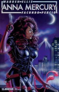 Cover Thumbnail for Anna Mercury (Avatar Press, 2008 series) #4 [Painted Felipe Massafera]