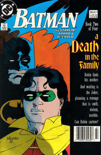 Cover Thumbnail for Batman (DC, 1940 series) #427 [Newsstand]