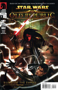 Cover Thumbnail for Star Wars: The Old Republic (Dark Horse, 2010 series) #5