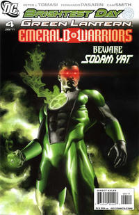 Cover Thumbnail for Green Lantern: Emerald Warriors (DC, 2010 series) #4