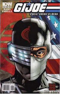 Cover Thumbnail for G.I. Joe: A Real American Hero (IDW, 2010 series) #160 [Cover A]