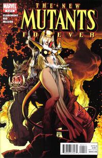 Cover Thumbnail for New Mutants Forever (Marvel, 2010 series) #4