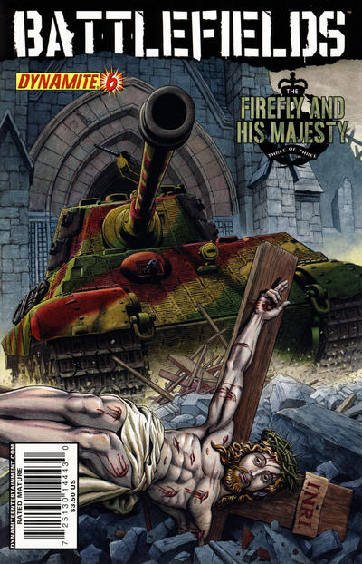 Cover for Battlefields (Dynamite Entertainment, 2009 series) #6