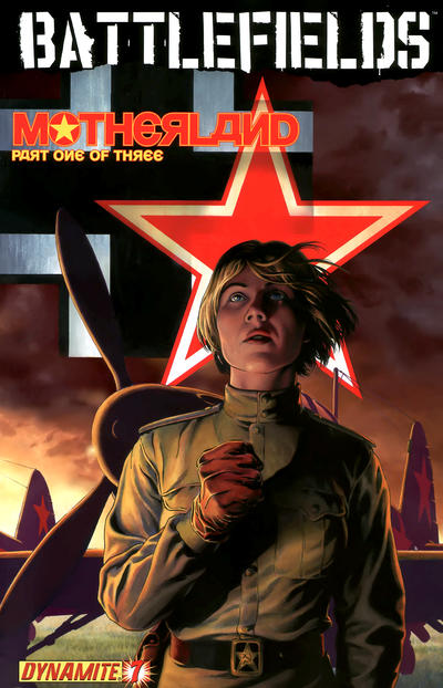 Cover for Battlefields (Dynamite Entertainment, 2009 series) #7