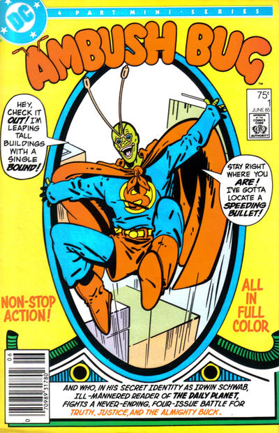 Cover for Ambush Bug (DC, 1985 series) #1 [Direct Sales]