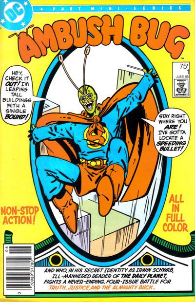 Cover for Ambush Bug (DC, 1985 series) #1 [Direct Sales]