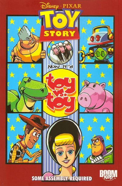 Cover for Toy Story: Some Assembly Required (Boom! Studios, 2010 series) #[nn]