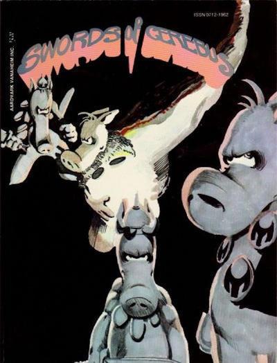 Cover for Swords of Cerebus (Aardvark-Vanaheim, 1981 series) #1 [Second Printing]