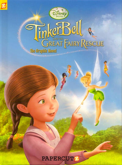Cover for Tinker Bell and the Great Fairy Rescue (NBM, 2010 series) #[nn]