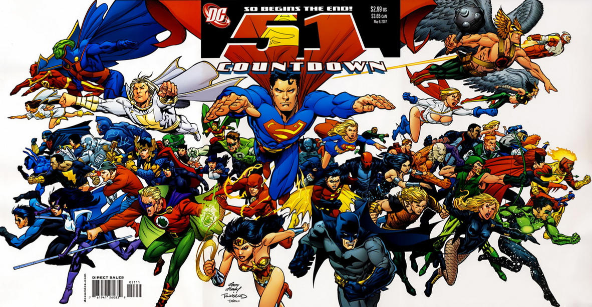 Cover for Countdown (DC, 2007 series) #51