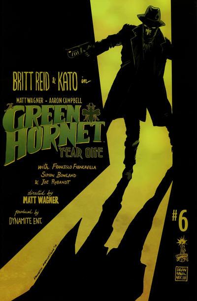 Cover for Green Hornet: Year One (Dynamite Entertainment, 2010 series) #6 [Matt Wagner Cover]