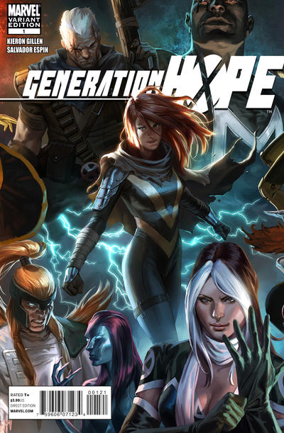 Cover for Generation Hope (Marvel, 2011 series) #1 [Direct Edition]