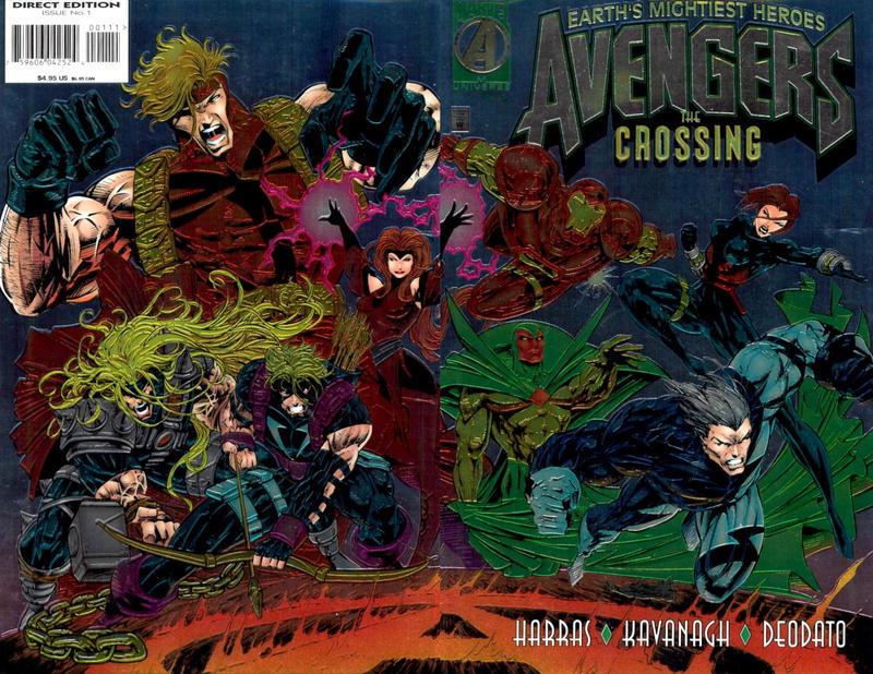 Cover for Avengers: The Crossing (Marvel, 1995 series) #1