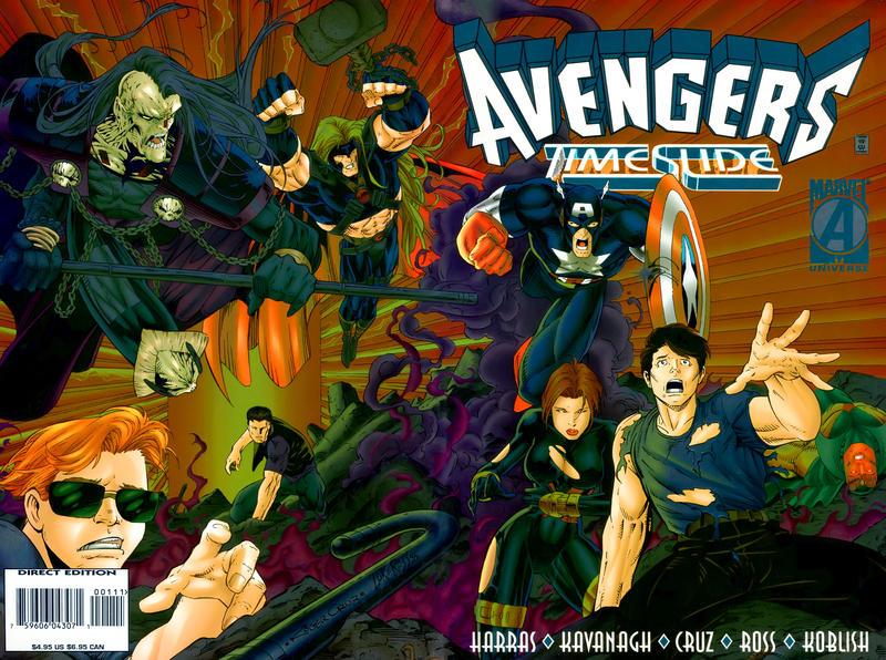 Cover for Avengers: Timeslide (Marvel, 1996 series)