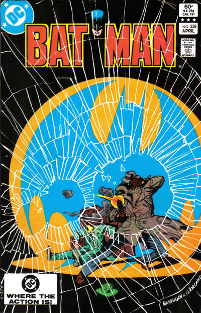 Cover for Batman (DC, 1940 series) #358 [Newsstand]